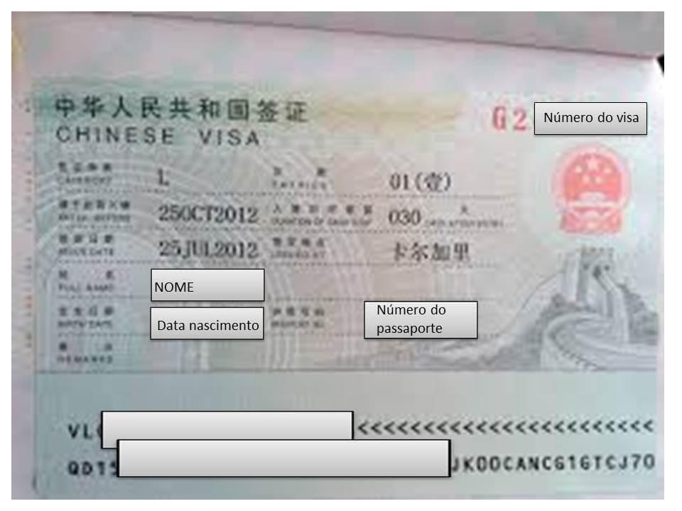 d6126671a Vistos para a China - China Vistos