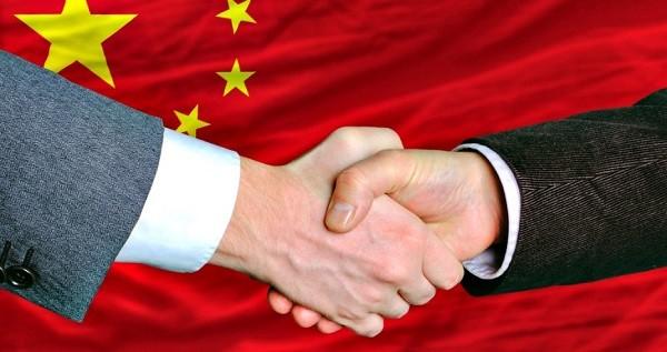 negócios na china