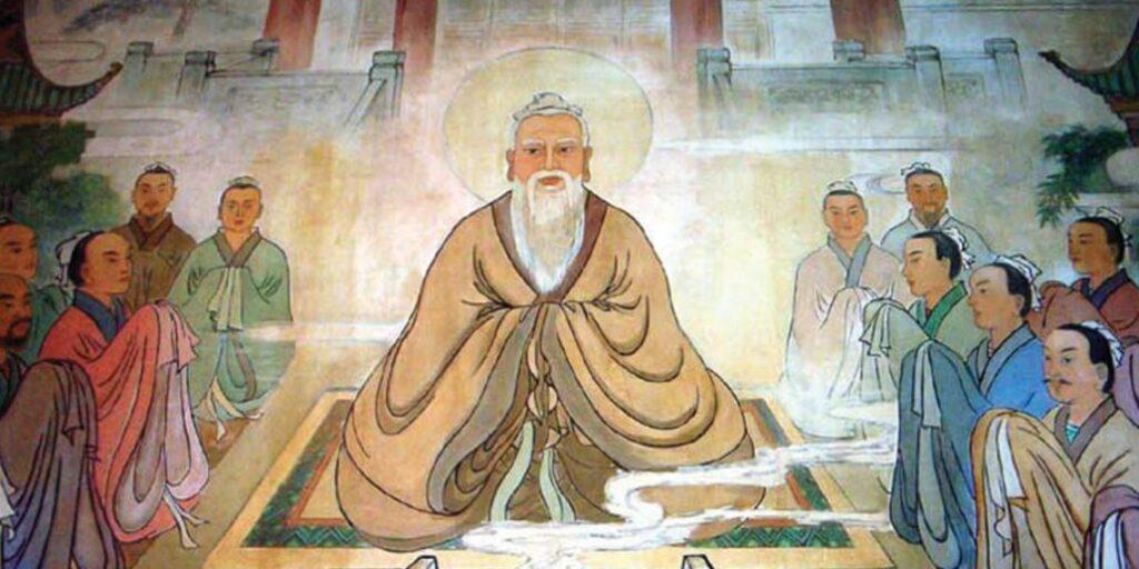 Lao Zi e seus discípulos