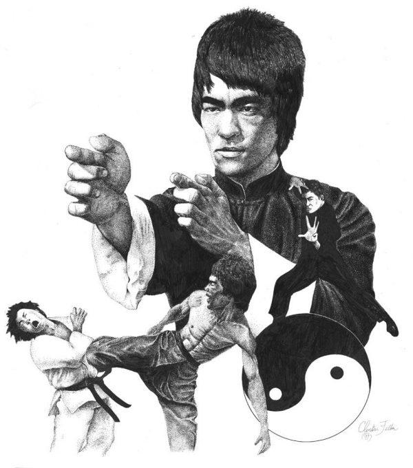 Embora o ator, filósofo e artista marcial tenha fundado a própria corrente de Kung Fu, ele também seguiu os preceitos taoistas