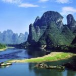 Parques chineses e a beleza natural da China