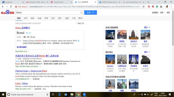 Sites mais populares 2