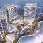Primeiro parque de diversões vertical será inaugurado na China