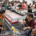 Confusão na inauguração da Costco na China