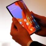 Novo Huawei com tela dobrável