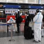 Chegada de estrangeiros na China